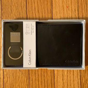 Calvin Klein Men's wallet and key fob
